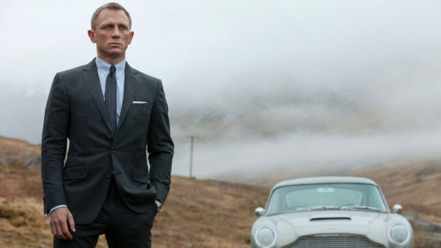 Daniel Craig starred as James Bond in Skyfall.