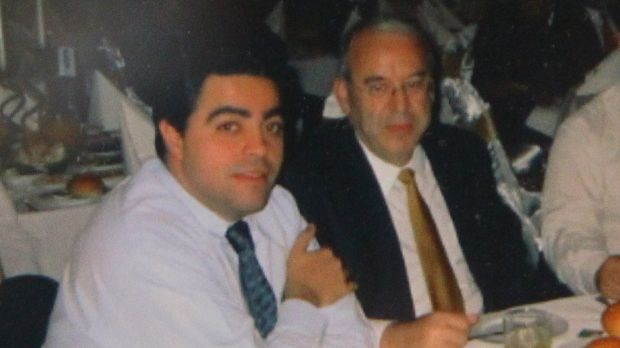 Former Labor minister and power broker Joe Tripodi with Eddie Obeid.