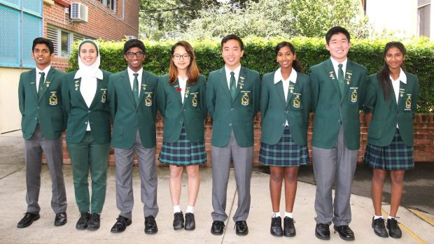 The class of 2016: James Ruse Agricultural High School achieved the triple – first overall, first in higher English and ...