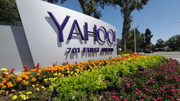Yahoo's  headquarters in Sunnyvale, California.