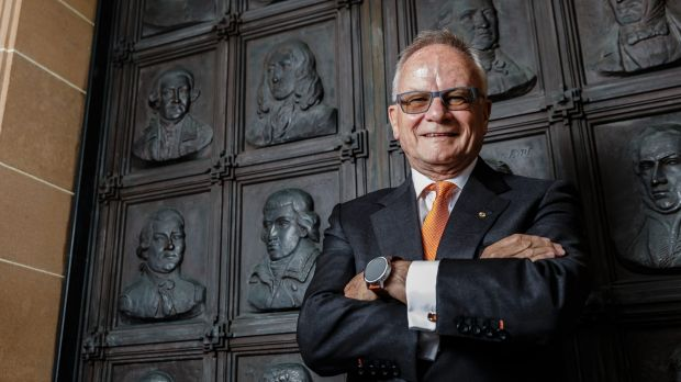 "Tony Shepherd is working on a ""blueprint for good government"" with the Liberal-leaning Menzies Research Institute."