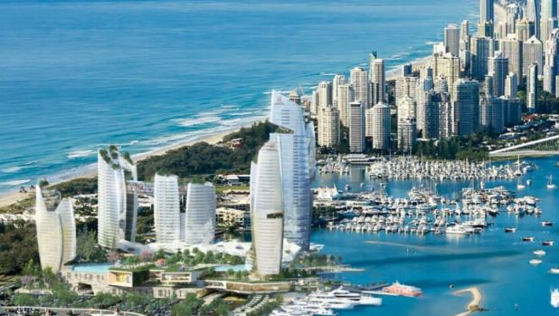 Tom Tate still eager to build Gold Coast cruise ship terminal