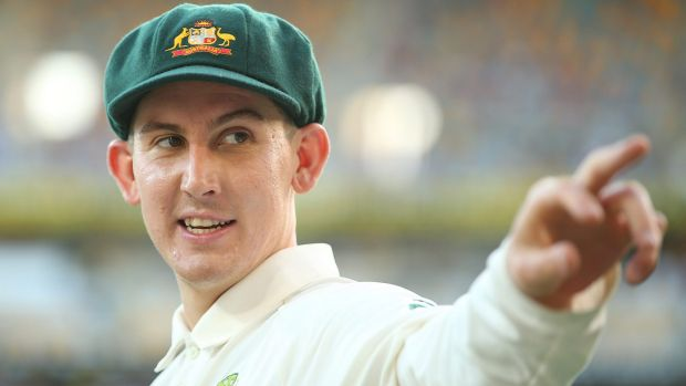 Nic Maddinson has kept his spot in the Test side.