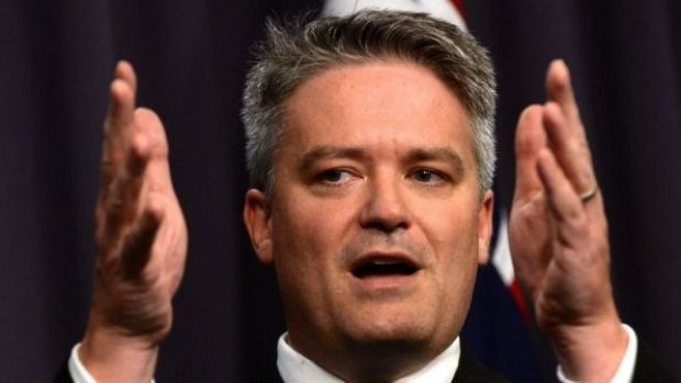 Finance Minister Mathias Cormann: categorically stated the government had no intention of changing capital gains tax ...