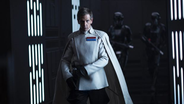 "Ben Mendelsohn, here as Director Krennic in Rogue One: A Star Wars Story, says success in  Hollywood takes ""a lot of work""."