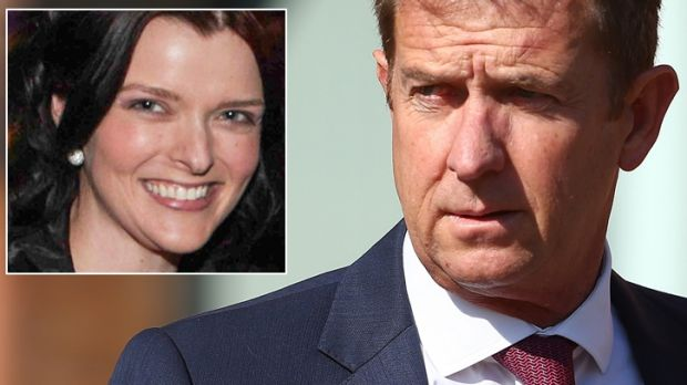 Seven West Media chief executive Tim Worner and, inset, former executive assistant Amber Harrison.