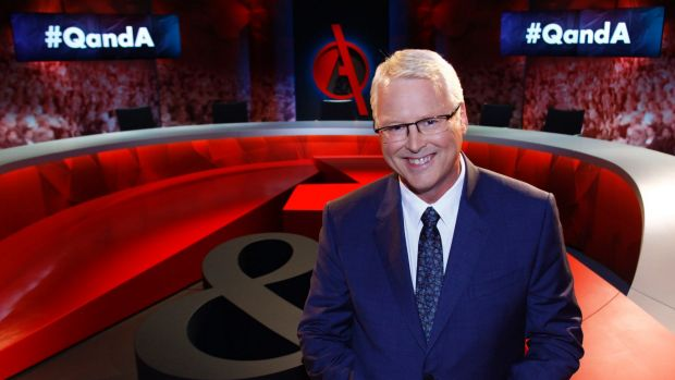 Tony Jones returns to screens on Q&A come Monday.