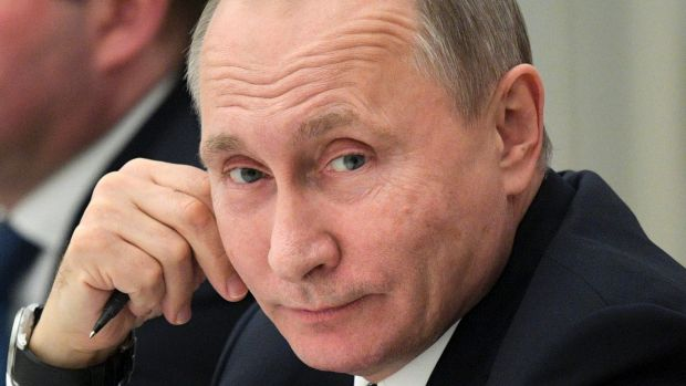 Russian President Vladimir Putin: No. 1 on the Forbes list of most powerful people.