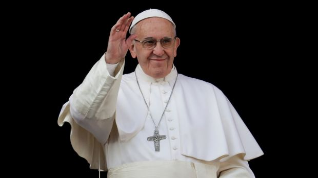 Pope Francis says hope is important because it never disappoints.