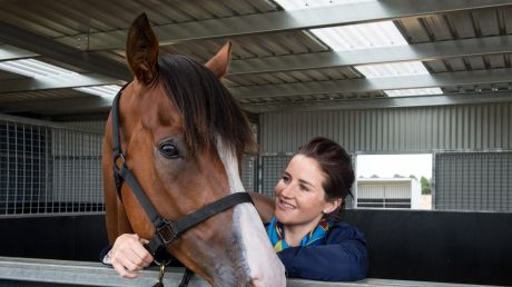 Melbourne Cup winning jockey Michelle Payne has tested positive to a banned substance.