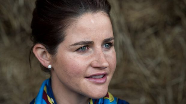 Michelle Payne, pictured last December.