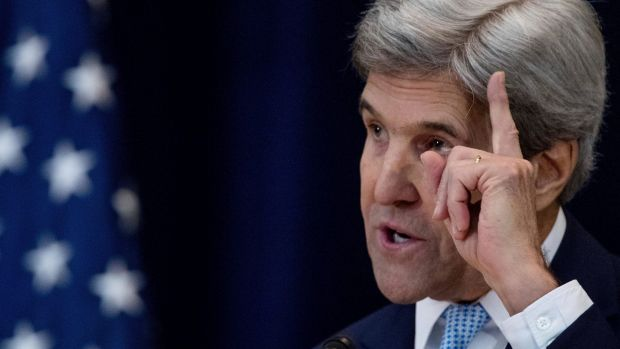 US Secretary of State John Kerry staunchly defended the Obama administration's decision to allow the UN Security Council ...