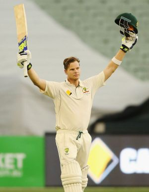 Another ton for Steve Smith.