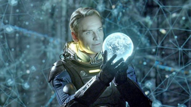 Michael Fassbender plays an android in <i>Alien: Covenant</i>.