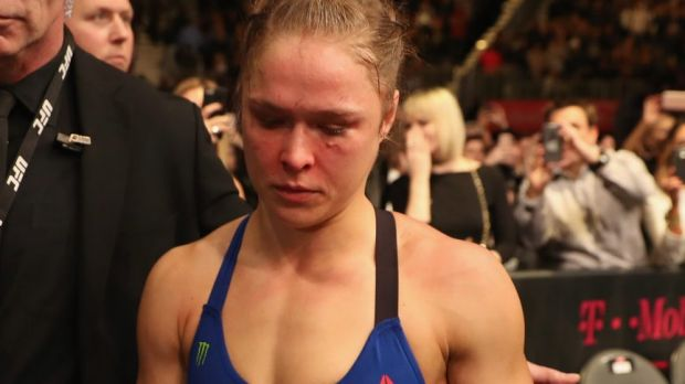 Ronda Rousey says she needs some time to think about her future.