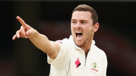 On the front foot: Josh Hazlewood believes CA's offer to state-based cricketers has been disrespectful.