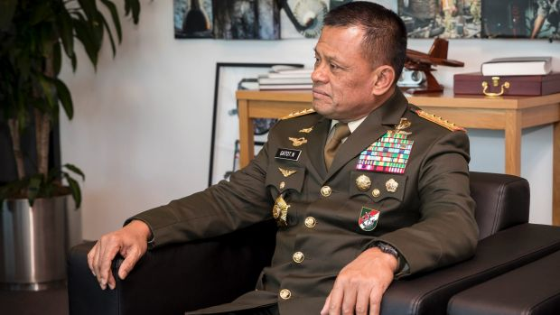 At rallies Indonesian General Gatot Nurmantyo has talked of how foreign powers are seeking to undermine Indonesia from ...