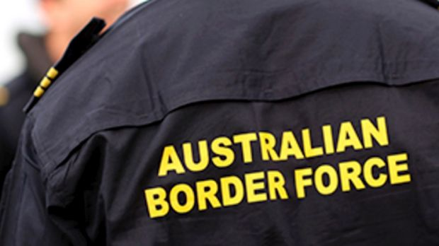 Australian Border Force.