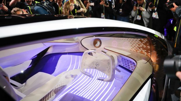 Having played down the hype around self-driving cars, Toyota introduced a future vehicle called Concept-i  that would ...