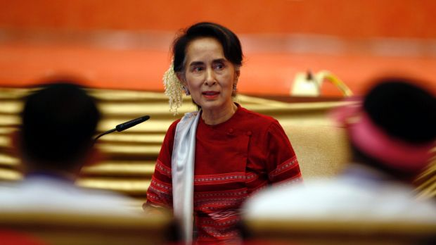 Nearly a dozen fellow Nobel peace laureates criticised Myanmar leader Aunt Sun Suu Kyi in December, saying she failed to ...