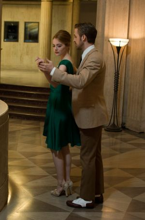 Can't dance as good as the greats? Emma Stone and Ryan Gosling in <i>La La Land</i>.