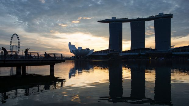 Marina Bay Sands in Singapore is one of the city's most popular destinations.