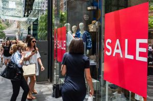 Retailers are feeling the pressure from the bout of warm weather.