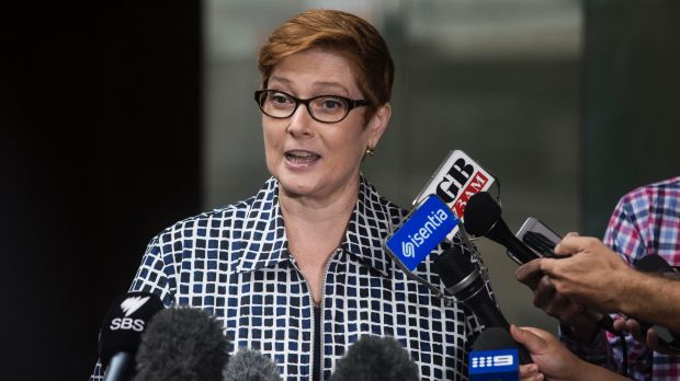Defence Minister Marise Payne has been asked to detail approvals for Australian firms to sell military goods to Saudi Arabia.