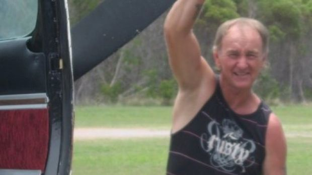 Les Woodall, a pilot for 1770 Castaway, was flying the plane that crashed at Middle Island.