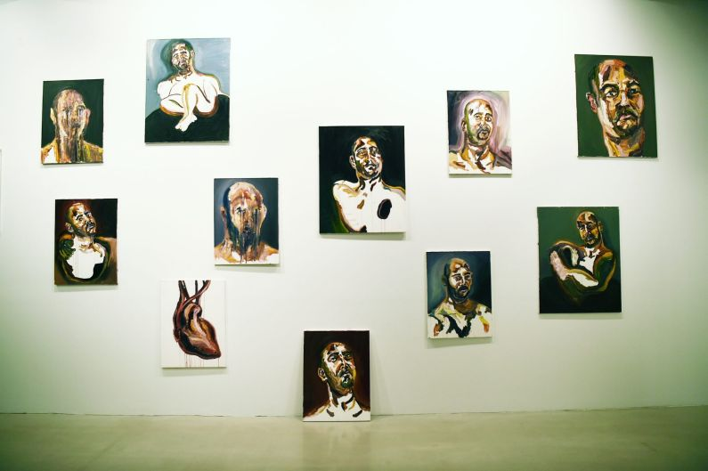 Myuran Sukumaran's series of paintings he completed in the 72 hours before his execution, part of 'Another Day In ...