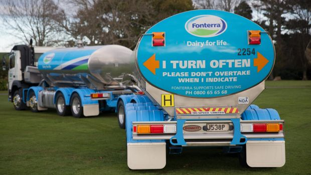 Fonterra is the world's top dairy exporter.