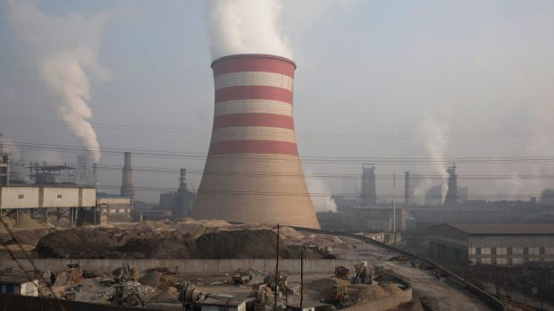 The Jiujiang steel and rolling mills in Qianan in northern China's Hebei province.