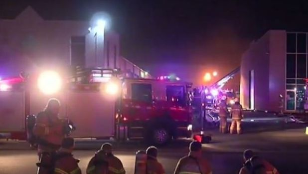 Sixteen appliances and 50 firefighters were sent to the Hoppers Crossing fire.