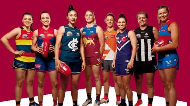 The AFL's inaugural AFLW season will begin next month.