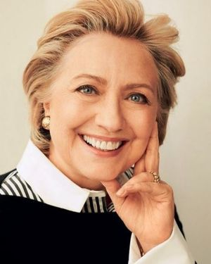 Hillary Clinton is spruiking an ancient relaxation technique.