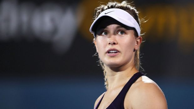 Shots fired: Eugenie Bouchard did not hold back in an online interview.