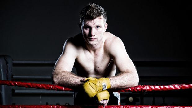 Stepping up his preparation: Jeff Horn says his work in the gym is filling him with confidence.
