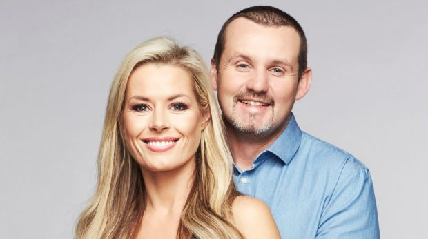 Madeleine West (Dee Bliss) and Ryan Moloney (Toadfish) in <i>Neighbours</i>.