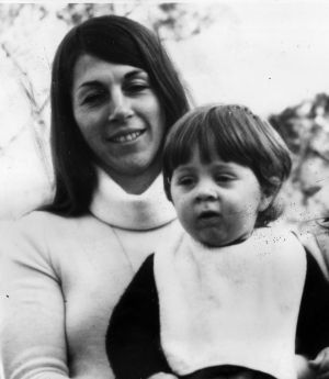 Suzanne Armstrong with son Gregory.