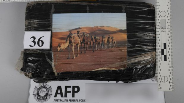 Some of the drugs had images of camels walking through the desert fixed on them.