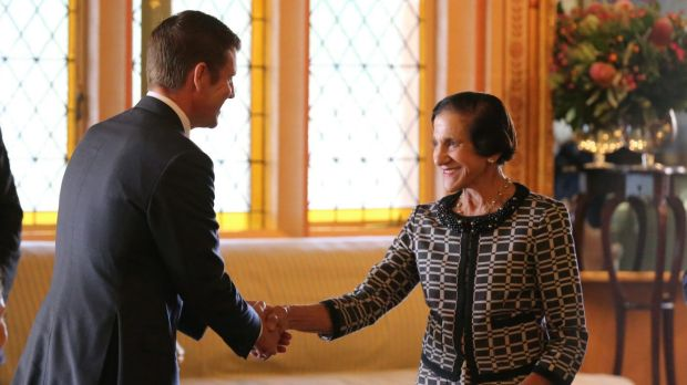Mike Baird made an arrangement with Marie Bashir on her retirement as governor that taxpayers would cover the costs of ...