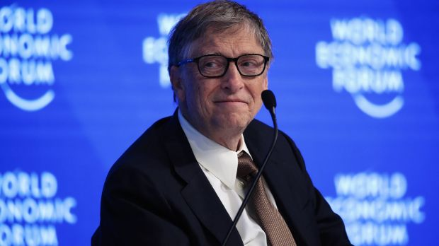 Bill Gates, billionaire and co-chair of the Bill and Melinda Gates Foundation.