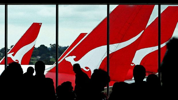 Qantas was seeking a government bailout in 2014 after reporting a loss of $2.8 billion.