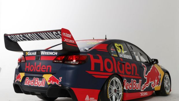 The new Holden Racing Team Commodore.