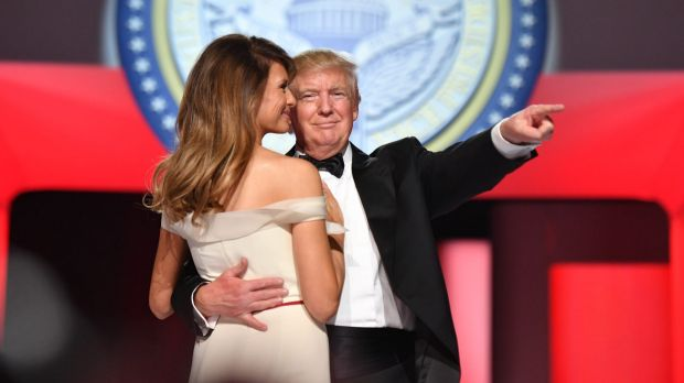 Was this Inauguration dance proof their marriage is on the rocks? Of course!
