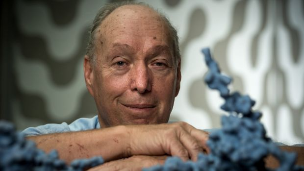 Professor Colin Masters at the Florey Institute was part of the research team that developed the blood test for amyloid ...