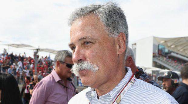 New Formula One chief Chase Carey.