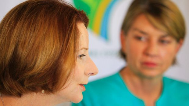 Julia Gillard and Anna Bligh made the list.