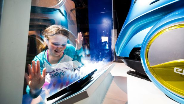 Keen computer programmer Ella Flett spends her school holidays at Scienceworks.
