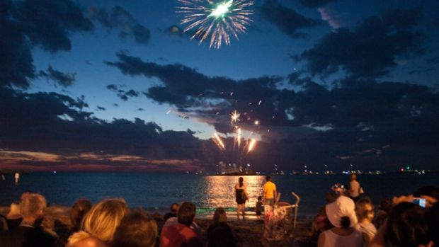 A fireworks display will be hosted by local businesses in Fremantle on Australia Day.